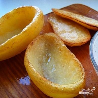 Сундучки из картофеля